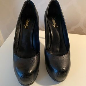 YSL Tribtoo Platform Pumps Authentic